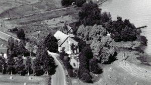 Lepokodin Väinölä-talo vuonna 1955